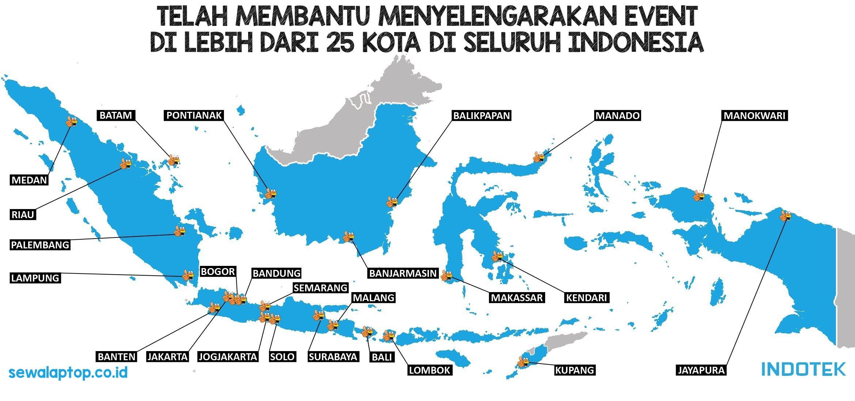 Peta Harga Sewa Laptop Jakarta Termurah